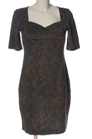 Ana Alcazar Mini vestido estampado con diseño abstracto look casual