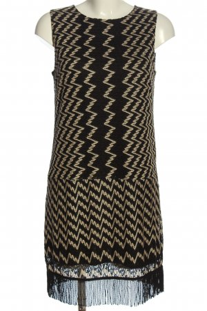 Ana Alcazar Sukienka mini czarny-kremowy Na całej powierzchni W stylu casual