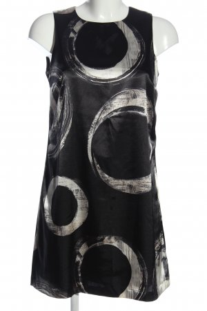 Ana Alcazar Sukienka mini czarny-biały Graficzny wzór W stylu biznesowym