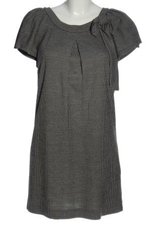Ana Alcazar Minikleid schwarz-weiß Streifenmuster Casual-Look