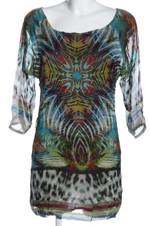 Ana Alcazar Robe courte motif abstrait style décontracté