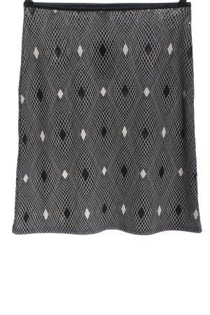 Ana Alcazar Mini rok zwart-wit volledige print casual uitstraling