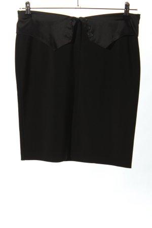 Ana Alcazar Mini-jupe noir style d'affaires