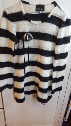 Ana Alcazar Pullover long Streifen Gr.36 S