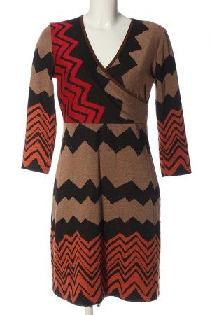 Ana Alcazar Sweater Dress striped pattern casual look