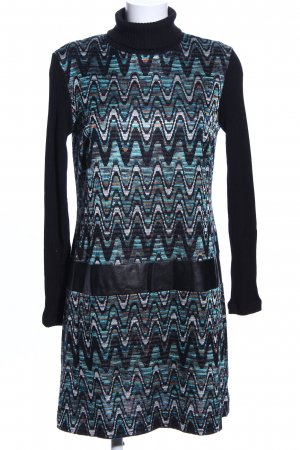 Ana Alcazar Sweater Dress graphic pattern casual look