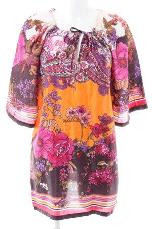 Ana Alcazar schulterfreies Kleid abstraktes Muster Casual-Look