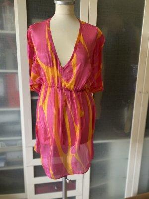 Ana Alcazar Blouse en soie rouge clair-rose soie