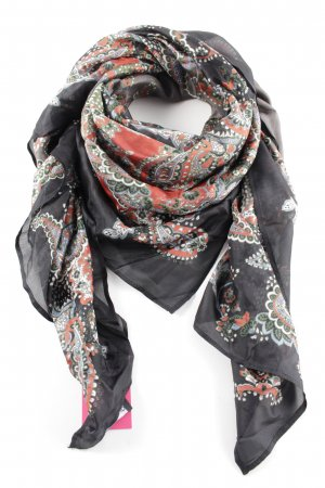 Ana Alcazar Summer Scarf embellished pattern casual look