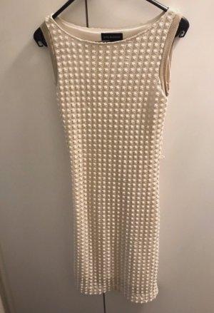 Ana Alcazar Vestido de encaje blanco-blanco puro