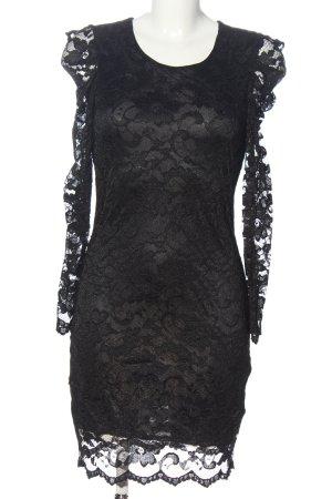 Ana Alcazar Spitzenkleid schwarz Casual-Look