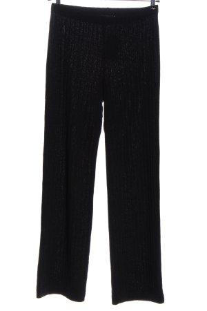 Ana Alcazar Jersey Pants black casual look