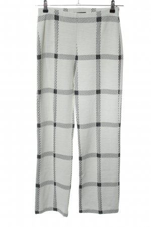 Ana Alcazar Jersey Pants natural white-black abstract pattern casual look