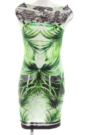 Ana Alcazar Stretch jurk bloemenprint casual uitstraling