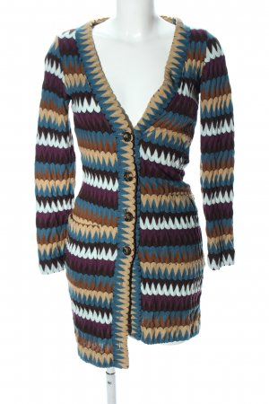 Ana Alcazar Strick Cardigan grafisches Muster Casual-Look