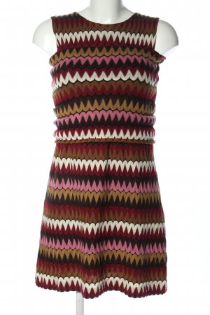 Ana Alcazar Gebreide jurk gestreept patroon casual uitstraling