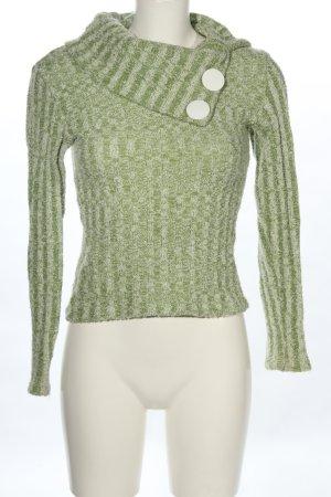 Ana Alcazar Jersey de punto verde look casual