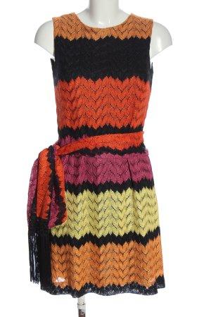 Ana Alcazar Vestido tejido estampado a rayas look casual