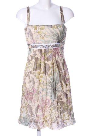 Ana Alcazar Robe à bretelles motif de fleur style décontracté