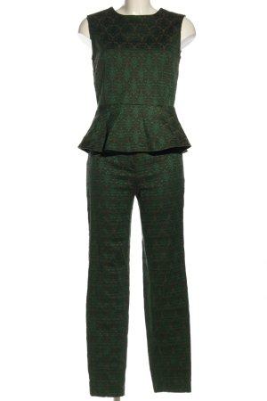 Ana Alcazar Web twin set groen-brons volledige print casual uitstraling