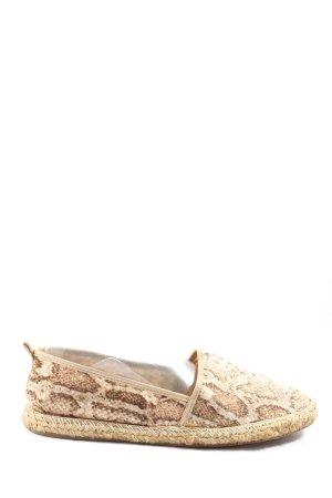 Anacapri Espadrille blanc cassé-brun