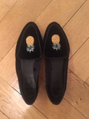 Zara Mocassino blu scuro