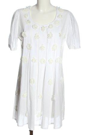Ananya Abito a maniche corte bianco-bianco sporco stile casual