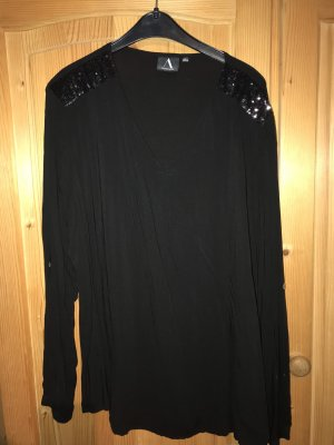 Anastacia Blouse met lange mouwen zwart