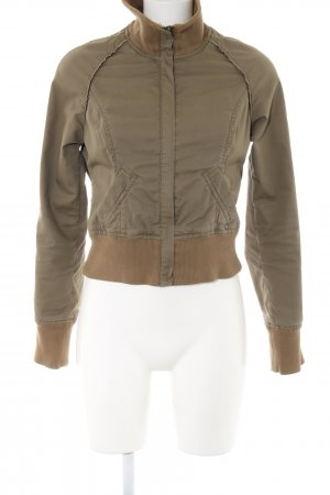 Anastacia by s.Oliver Blouson khaki-brown themed print casual look