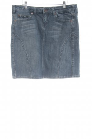 Anastacia by s.Oliver Denim Skirt slate-gray casual look