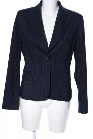 Anastacia by s.Oliver Short Blazer blue-white striped pattern casual look