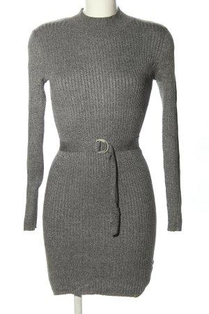 Anastacia Abito jersey grigio chiaro stile casual