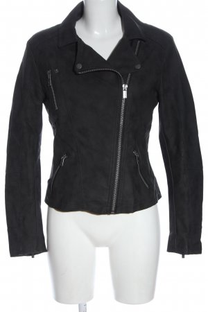 Anastacia Giacca in ecopelle nero stile casual