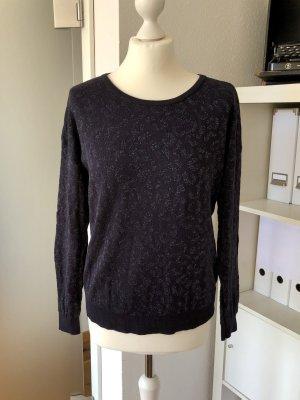 Anastacia Crewneck Sweater blue-dark blue