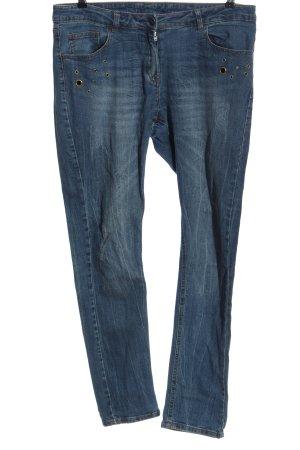 Anastacia Jeans a sigaretta blu stile casual