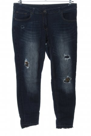 Anastacia Tube jeans blauw casual uitstraling