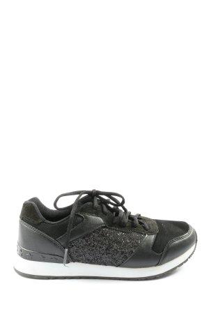 Anastacia Sneaker stringata nero stile casual