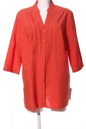 Anatelier Linen Blouse red casual look