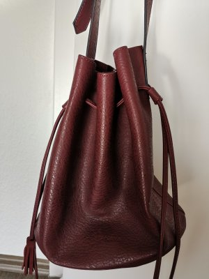Anaya Pouch Bag bordeaux mixture fibre