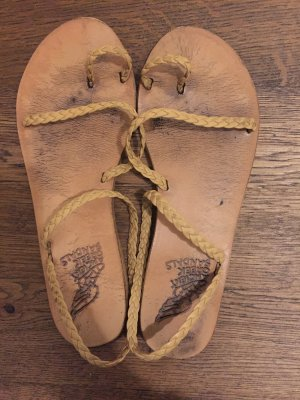 Ancient greek sandals Strapped Sandals multicolored