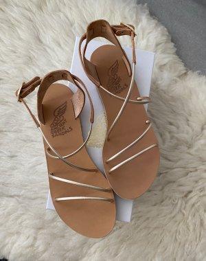Ancient greek sandals Sandalen met bandjes veelkleurig