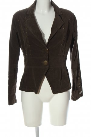 Ancora Short Blazer brown casual look