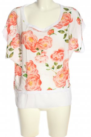 Ancora Short Sleeved Blouse flower pattern casual look