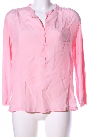 Ancora Long Sleeve Blouse pink business style