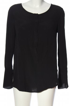 Ancora Long Sleeve Blouse black business style