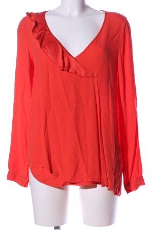 Ancora Long Sleeve Blouse red casual look