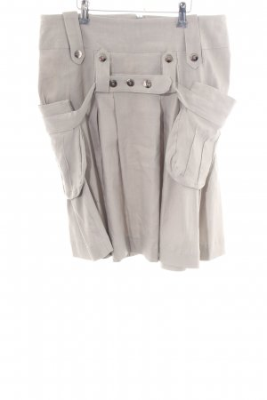 Ancora Miniskirt light grey casual look