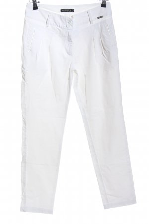 Ancora Jersey Pants white simple style