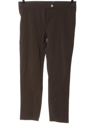 Ancora Stoffen broek brons casual uitstraling