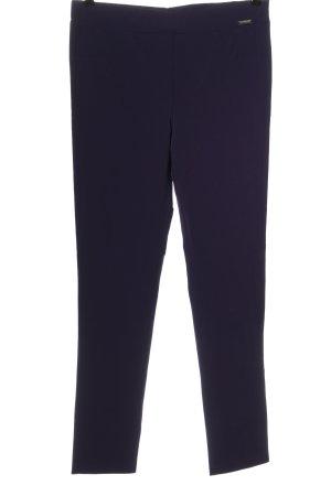 Ancora Pantalon en jersey violet style d'affaires
